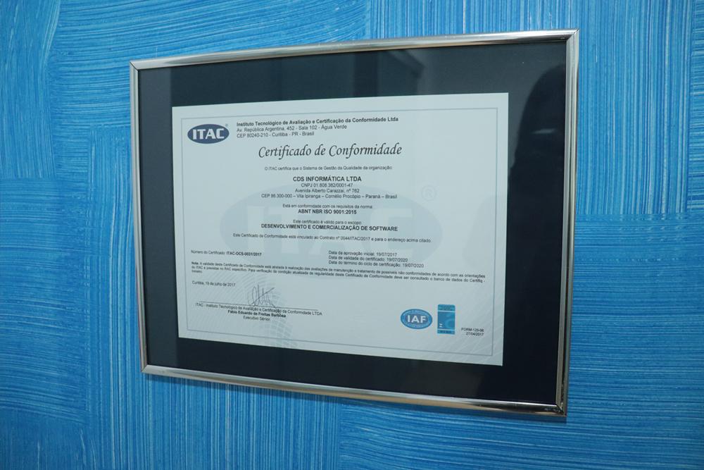 Certificações na empresa