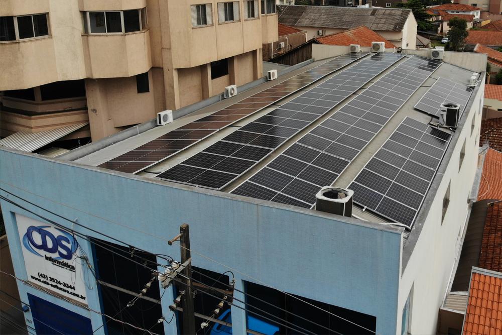 Primeira empresa de Tecnologia de nossa cidade 100% sustentável em produção de Energia!