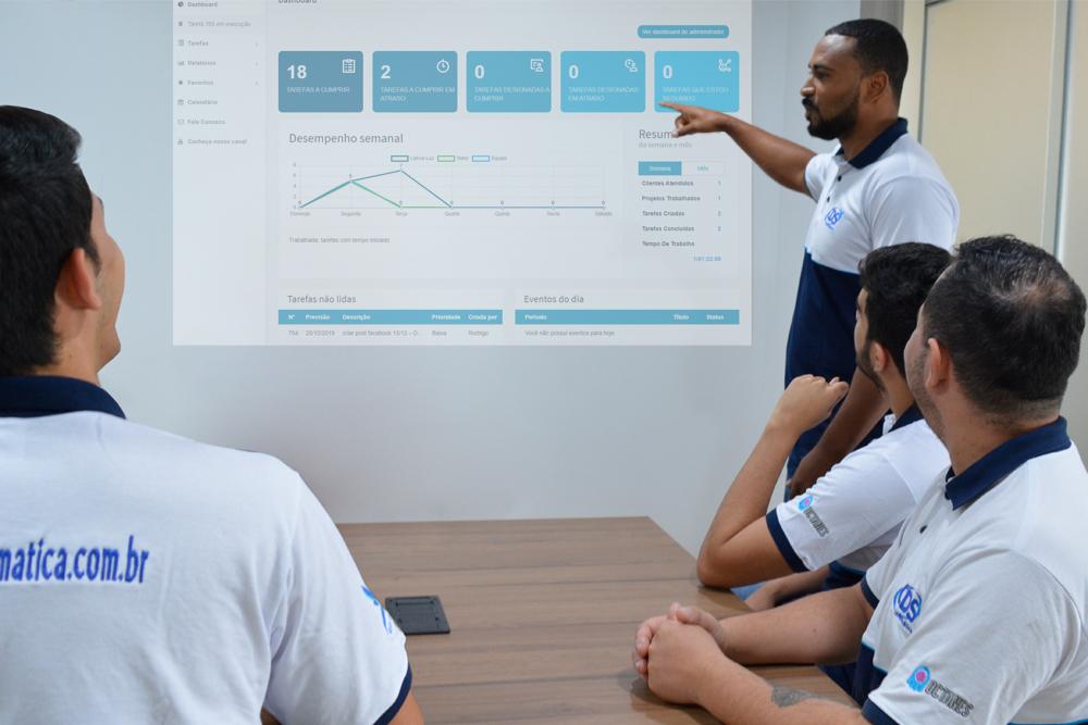 Importância de treinamentos internos na empresa