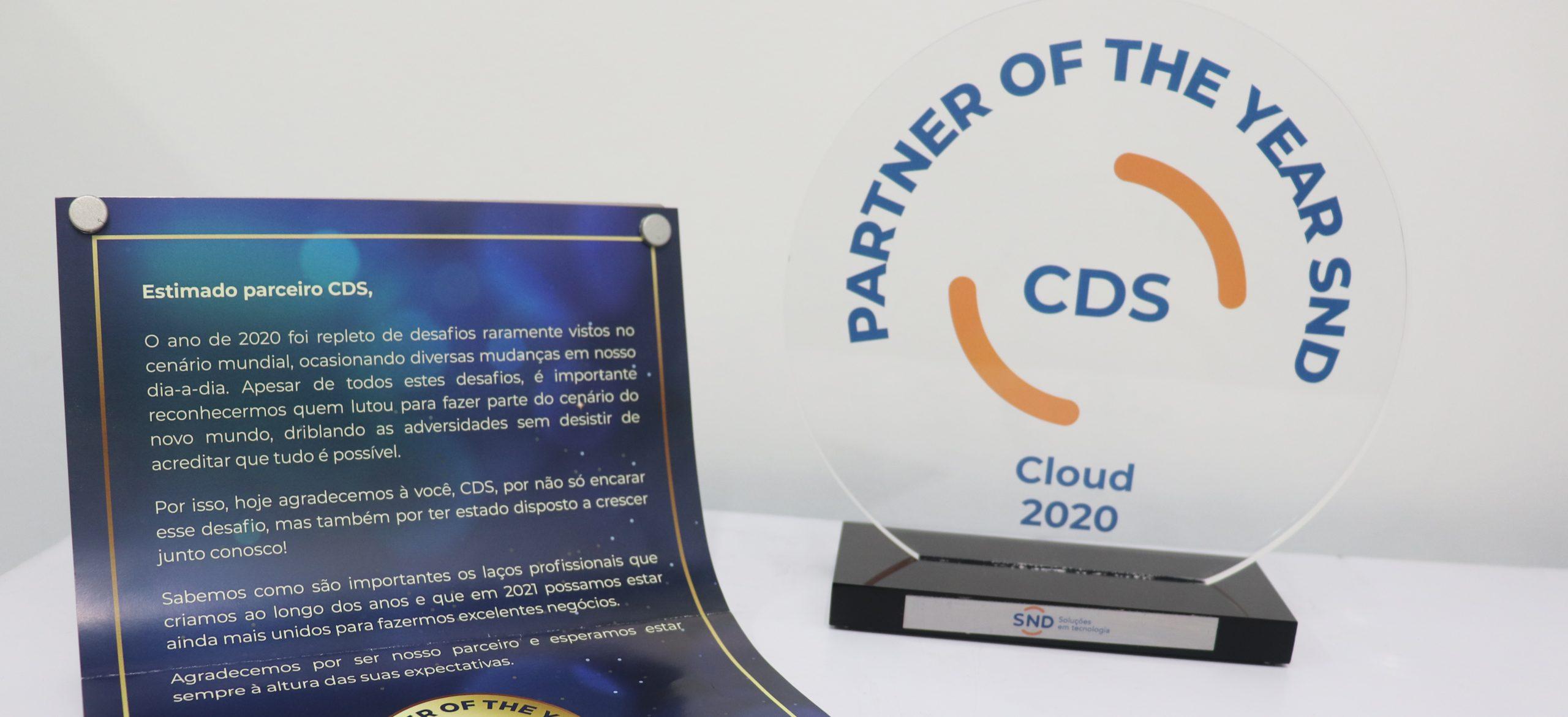 CDS Software é reconhecida por sua parceria com a SND.